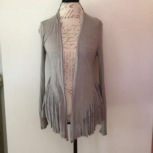 Pins and Needles Ruffled Cardigan Size S